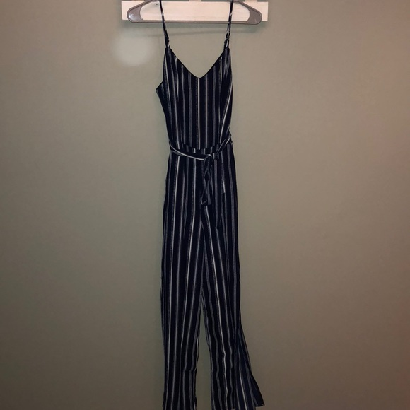 cf3ce40b616c Blue and white striped jumpsuit. M 5b95ad0b12cd4a33bd749294. Other Pants ...
